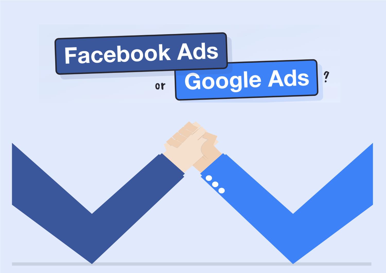 Facebook Ads ou Google Ads? Qual é o Melhor para mim?